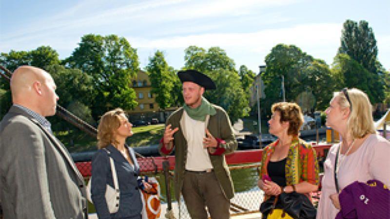 Guidning på Ostindiefararen, guidning på svenska -Klicka in för tider