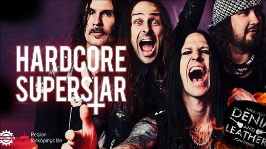 Hardcore Superstar - Denim & Leather