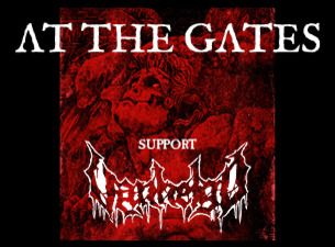 AT THE GATES + SUPPORT