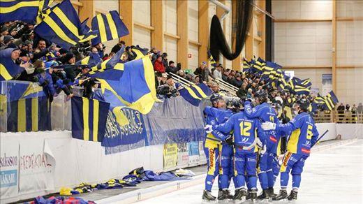 Bandyallsvenskan: Nässjö IF-Gripen Trollhättan BK