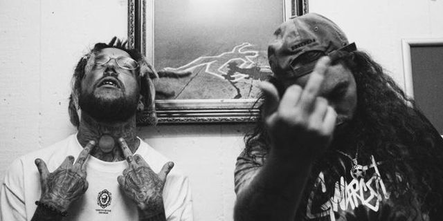 Hiphopduo åter till Sverige