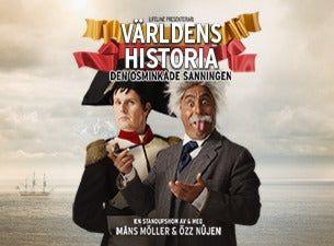 Världens Historia – Özz Nûjen & Måns Möller
