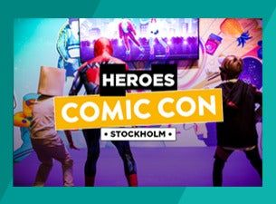 Comic Con Stockholm 2021 | Fredagsbiljett