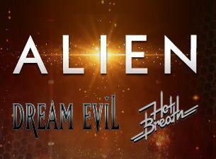 ALIEN 35års-jubileum // support: Dream Evil + Hot Breath