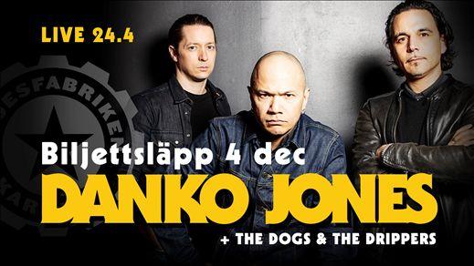 Danko Jones + The Dogs + The Drippers