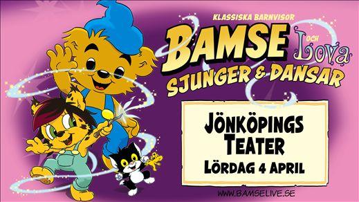BAMSE och Lova Dansar & Sjunger
