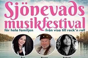 Sjönevads Musikfestival - från visa till rock´n roll