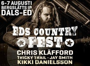 Eds Countryfest 2021 - Dagsbiljett Lördag 7 augusti