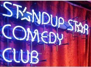 Standup Star Comedy Club med Erik Berglund m.fl