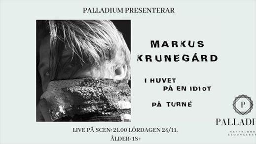 Markus Krunegård *Palladium* 181124