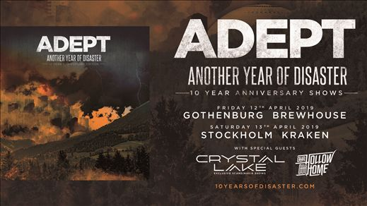 ADEPT: Another Year Of Disaster 10 års jubileum