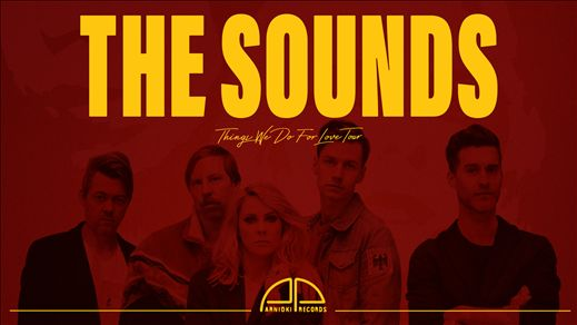The Sounds + support - The Crypt, Linköping