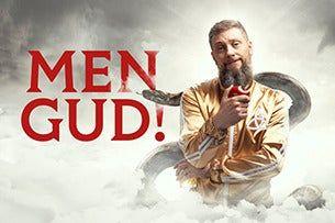 MEN GUD! Magnus Betnér är Den Allsmäktige