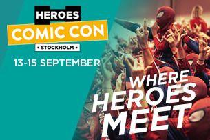Comic Con Stockholm 2019 | Söndagsbiljett