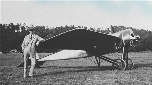 Flygpionjär Enoch Thulin