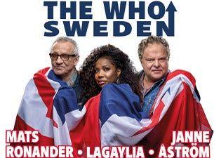 The Who Sweden - Mats Ronander - LaGaylia - Janne Åström