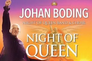 JOHAN BODING & NIGHT OF QUEEN - WHEEL OF FORTUNE TOUR