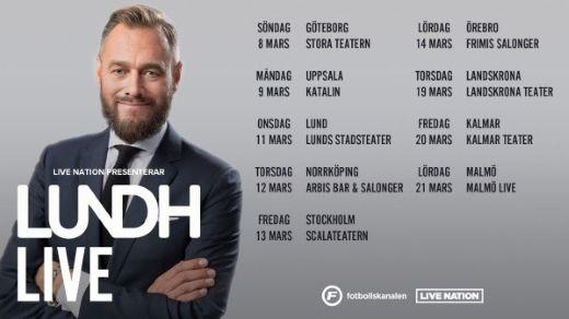 LUNDH LIVE - OLOF LUNDH PÅ PODTURNÉ