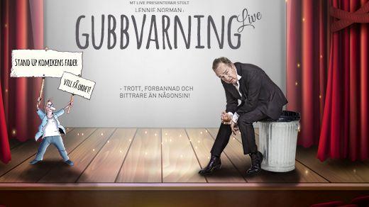 Lennie Norman - Gubbvarning Live!