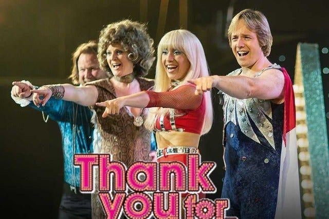 Thank You For The Music - en hyllning till Björn & Benny - FLYTTAS