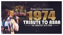 1974 Tribute to ABBA - The Greatest hits tour