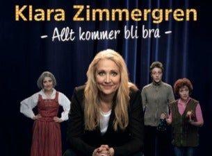 Klara Zimmergren - Allt kommer bli bra