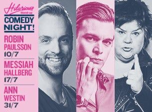 Hilarious Stand-up med Messiah Hallberg