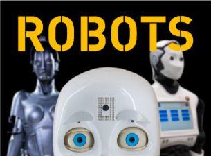 Succéutställningen Robots på Tekniska museet