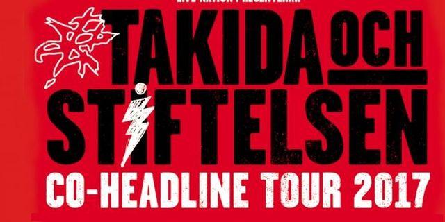 Takida och Stiftelsen på turné tillsammans