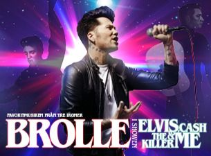 Brolle i showen ELVIS, CASH, THE KILLER & ME