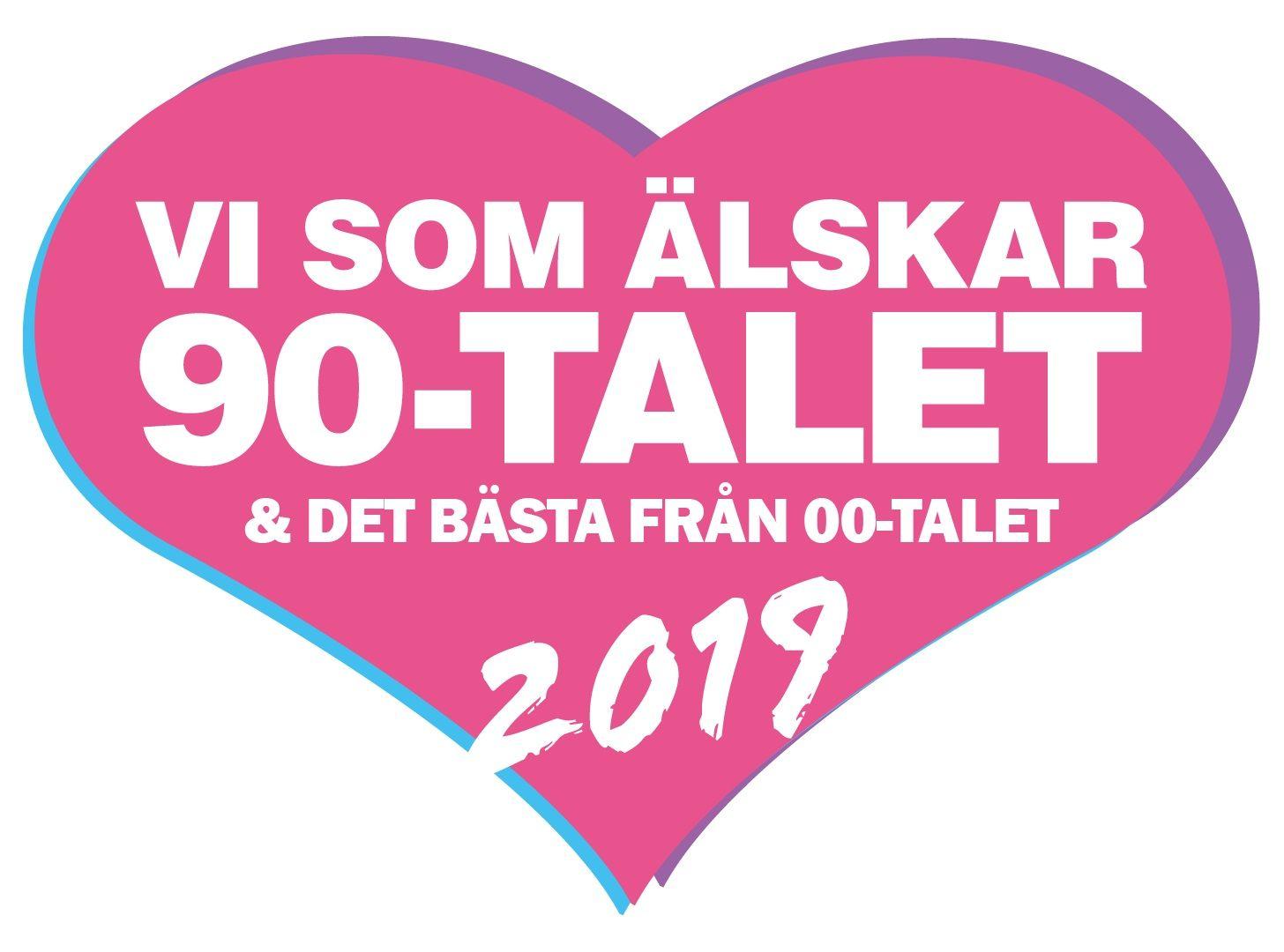 Vi som älskar 90-talet 2019