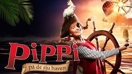 Astrid Lindgrens PIPPI på de sju haven