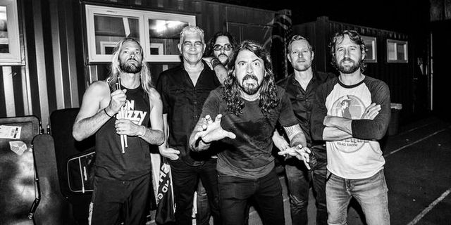 Foo Fighters till Sverige