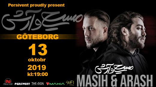 Arash & Masih Live concert in Gothenburg
