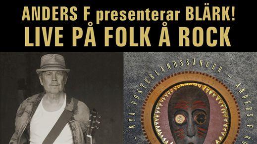 Anders F Rönnblom presenterar Blärk