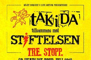 Takida / Stiftelsen - TRE.STOPP