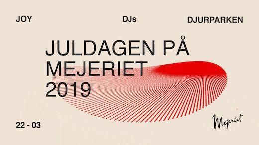 Juldagen - JOY, Djurparken & DJs