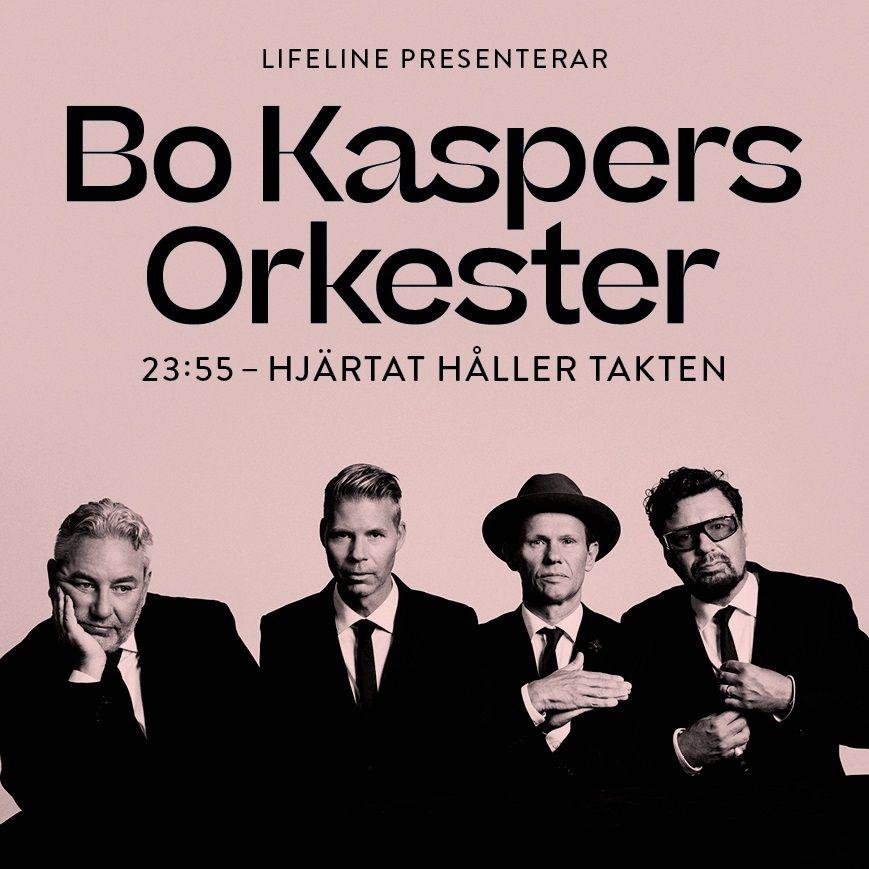 Bo Kaspers Orkester - 23:55 - Hjärtat håller takten