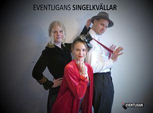 EVENTLIGANS SINGELKVÄLLAR - För åldersgruppen 40+