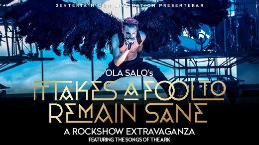 Ola Salo - It takes a fool to remain sane