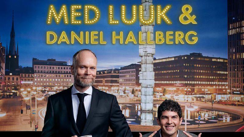 Scenkväll med Luuk och Daniel Hallberg