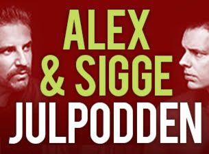 Julpodden - Alex & Sigges nya live-podd