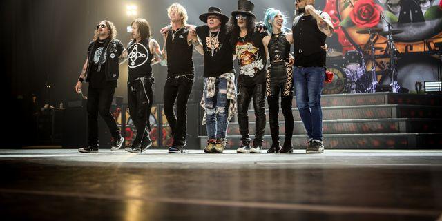 Fans till Guns N' Roses kan nu blicka fram mot 2022