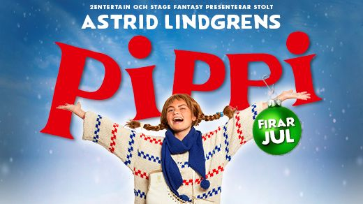 Astrid Lindgrens PIPPI firar jul