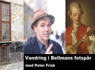 I Bellmans fotspår - en stadsvandring