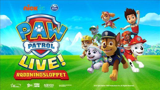 Paw Patrol - Räddningsloppet extraföreställning
