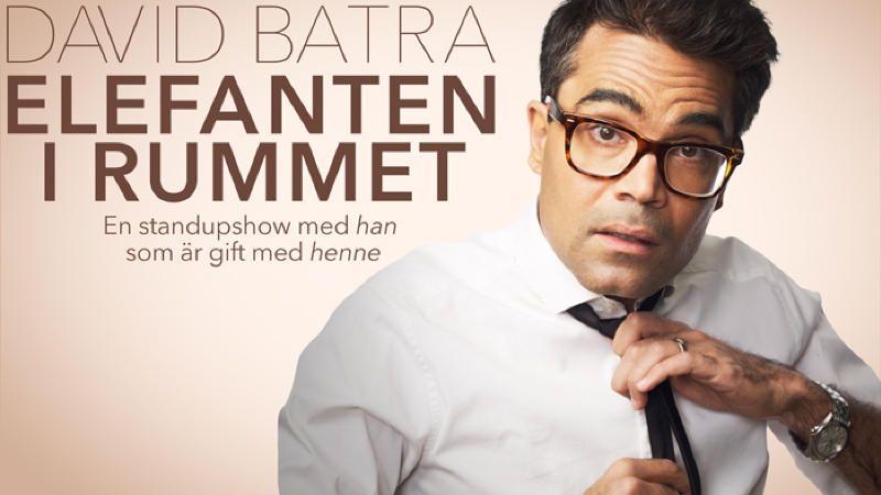 """DAVID BATRA -"""" ELEFANTEN I RUMMET"""