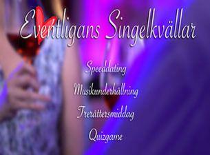 EVENTLIGANS SINGELKVÄLLAR - För åldersgruppen 60+