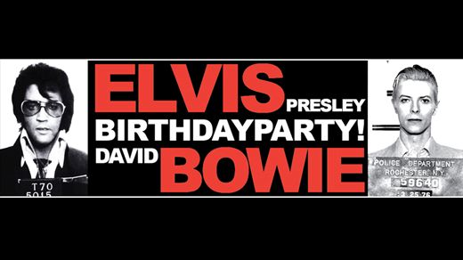 Elvis & Bowie Birthday Party
