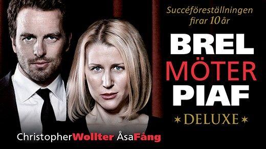 Brel möter Piaf - Deluxe